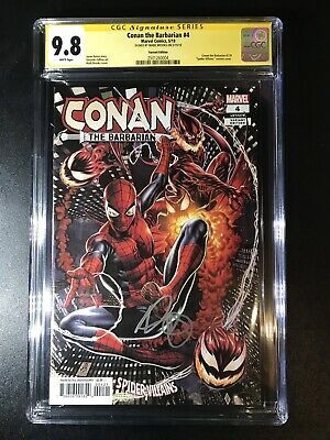 Conan the Barbarian 4 Brooks Variant CGC 9.8 2501260004 Absolute Carnage Red