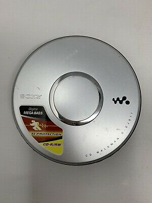 Sony CD Walkman D-EJ011 Portable CD Player MegaBass G-Protection Tested Works