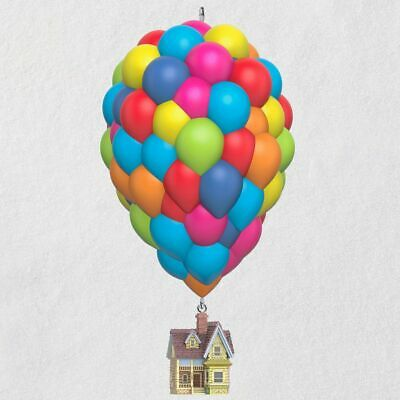 2019 Hallmark Disney Pixar Up 10th Anniversary Musical Ornament Balloon House