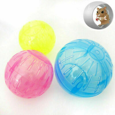Hamster Mice Exercise Running Ball Mini Sprint Ball Pets Play Toy Plastic Funny