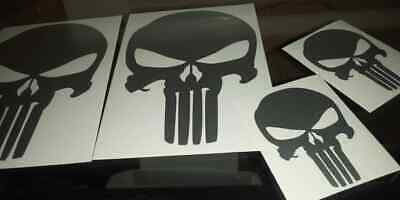 Punisher Decal - The Punisher Skull Die Cut Sticker - Choose Color - SHIPS FREE