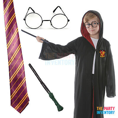 HARRY POTTER Inspired Brave Wizard COSTUME KIT Kids Book Week Halloween Dress Up