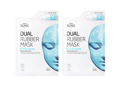 [SCINIC] Dual Rubber Wrapping Mask  -  MOIST - 2 sheets