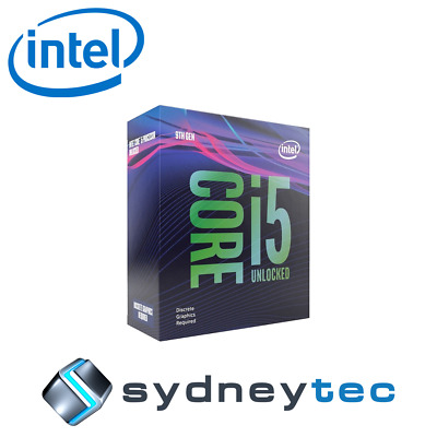 New Intel Core i5 9600K Hexa Core LGA 1151 3.70GHz Unlocked CPU Processor