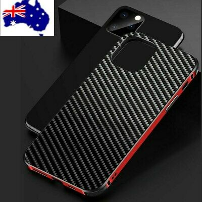 Slim Carbon Fiber Hybrid Shockproof Case Cover For iPhone 8 7 6 Plus X XR XS MAX