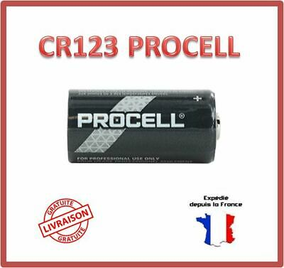 Pile 123 / CR123 / CR123A / DL123 / CR17345 Duracell Photo Lithium 3V Bulk