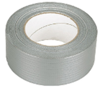 STRONG 6 ROLL OF SILVER DUCT DUCK GAFFA GAFFER CLOTH TAPE 50mm x 50M WATERPROOF