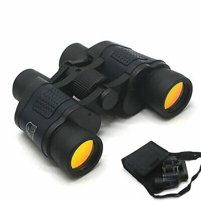 60x60 Military Army Optics Zoom Binoculars Hunting Camping Day Night Telescope