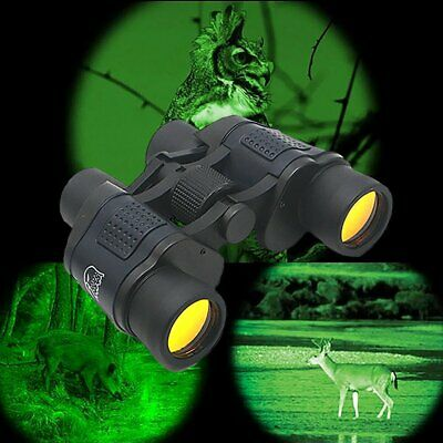 Military HD 60x60 Military Army Optics Zoom Binoculars Day/Night Telescope UK