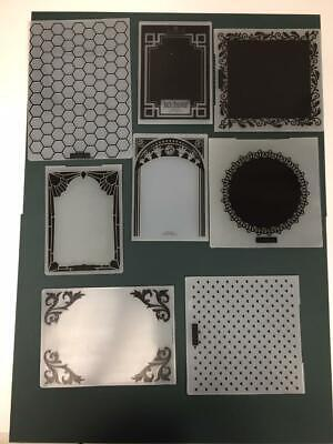 Embossing Plates assorted in good condition Job Lot 5