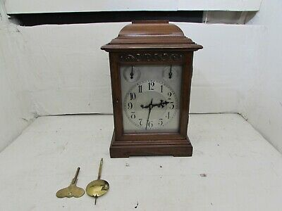 Impressive Antique Winterhalder & Hofmeier Twin Fusee Ting Tang Bracket Clock