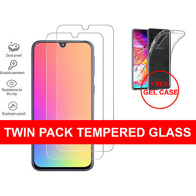 For Samsung Galaxy A20e A50 A40 A70 A10 Genuine Tempered Glass Screen Protector