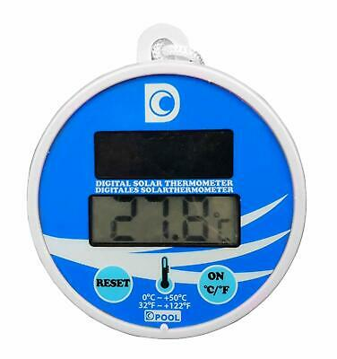 Well2wellness Digitales Pool Solarthermometer Piscina Termómetro (024026)