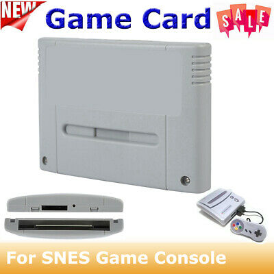 Cartridge Console Video Game Card for Super Nintendo SNES SFC Game TF MMC Card