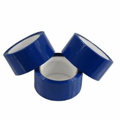 36 RollS Of strong  BLUE coloured Packing Parcel Tape 50mmx66m / HIGH QUALITY