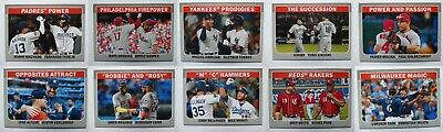 2019 Topps Heritage High Number Combo Cards Baseball Cards Pick List