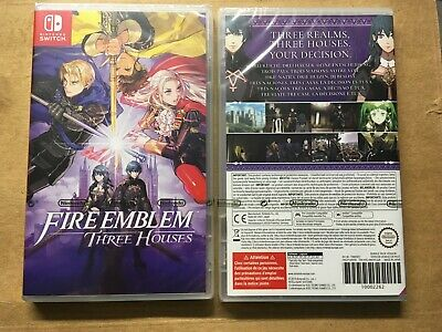Fire Emblem Three Houses Nintendo Switch Deutsch Neu + Ovp