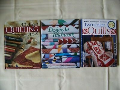 Lot of6 Quilting Books Excellent Condition