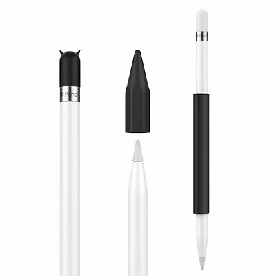 MoKo Case Holder for Apple Pencil - Magnetic Silicone Pencil Holder Grip Sleeve