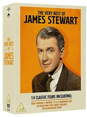 The Very Best of James Stewart (Box Set) [DVD]