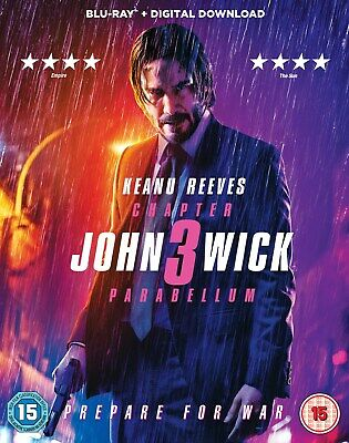 John Wick: Chapter 3 - Parabellum (with Digital Download) [Blu-ray]