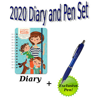 Do It All Mum 2020 Planner Diary and Exclusive Diary Pen Gift Set