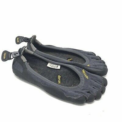 Vibram Five Fingers Shoes Size 41 8.5 Mens Classic Smartwool Gray Black Running