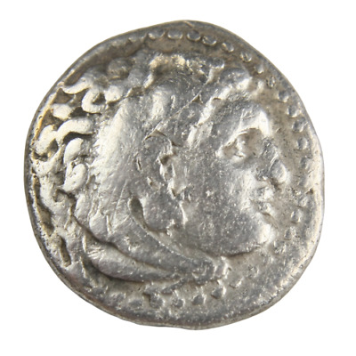 Ancient Silver coin of emperor Alexander III 'the Great' AR Drachm