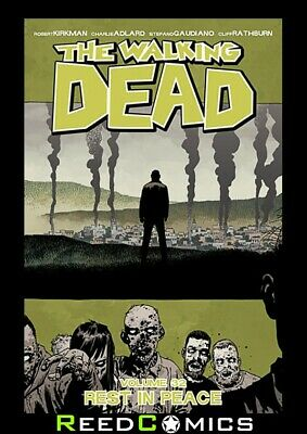 WALKING DEAD VOLUME 32 REST IN PEACE GRAPHIC NOVEL Paperback Collects #187-192