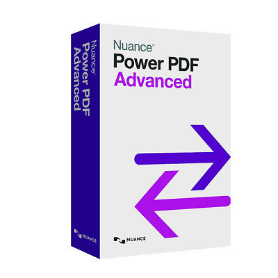 Nuance Power PDF Advanced v1 - Digital Download Software Key