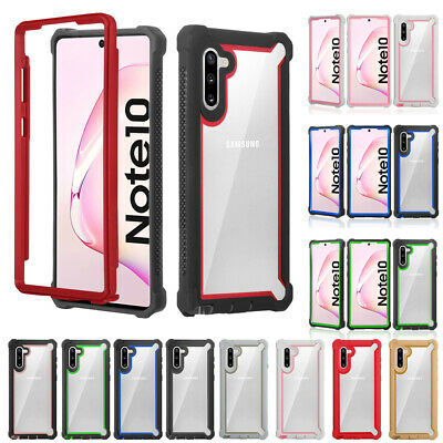 For Samsung Galaxy Note 10 Plus/10 Hybrid Clear Shockproof Heavy Duty Case Cover