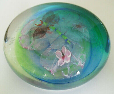 """Boxed Ltd Ed Caithness """"Traditional Pool"""" Paperweight Colin Terris(320/350)"""