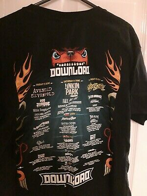DOWNLOAD FESTIVAL 2011 Rip Camping T-Shirt Size S (291