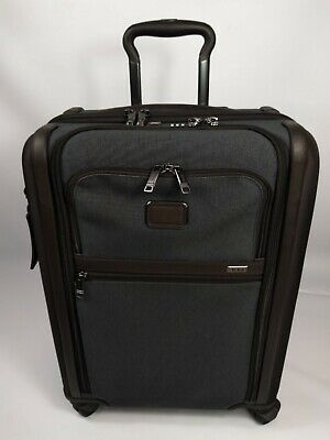 TUMI Alpha 3 Continental Expandable Dual Access 4 Wheeled Carry-On - ANTHRACITE