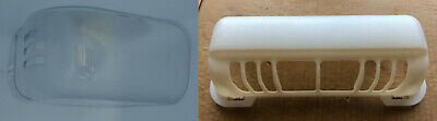 Whirlpool Fridge Light Cover Upper or Lower  W10166019 W11239891 W10900030