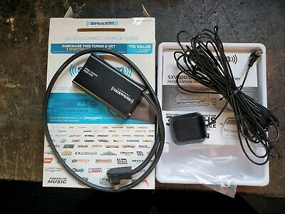 SiriusXM SXV300 Connect Vehicle Tuner Kit used working fine