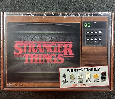Rare NetFlix Stranger Things Collectors Gift Set New In Sealed Box Great Gift UT