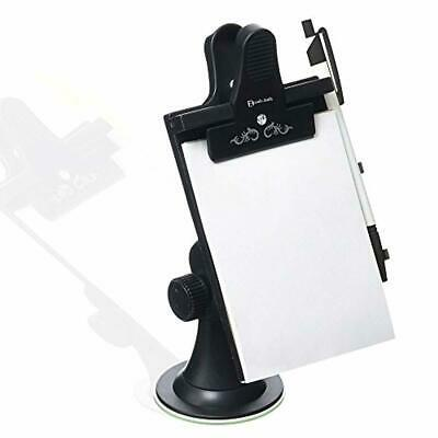 Car Dashboard Holder Note Pad Clip Board Mount for Memo Pad Universal Suction