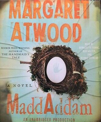 Maddaddam Audio Book 11 CD Set Margaret Atwood Trilogy Handmaid's Tale Author