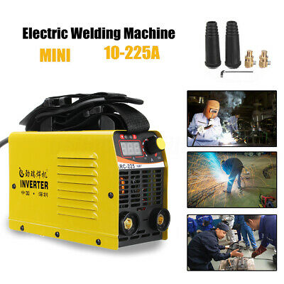 Portable ARC Welder Inverter MMA 240V 225Amp LCD Stick Welding Machine IGBT Kit
