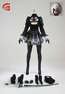 """TFTOYS 1//6 TF03 Female Over Knee Boots Solid Inside Shoes F 12/"""" Figure Body Doll"""