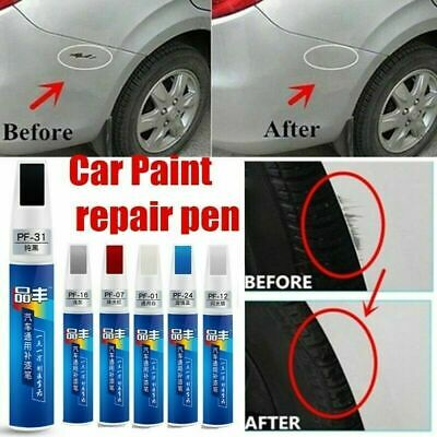 Auto Car Coat Paint Pen Touch Up Scratch Clear Repair Remover Applicator Tool~