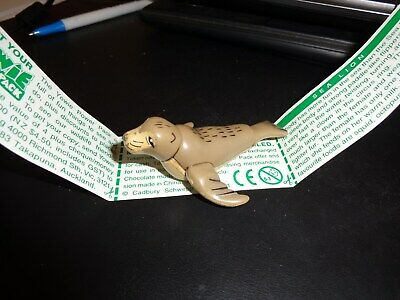 Yowie Yowies Series 1 Variation Large Sea Lion With Intact Green Paper