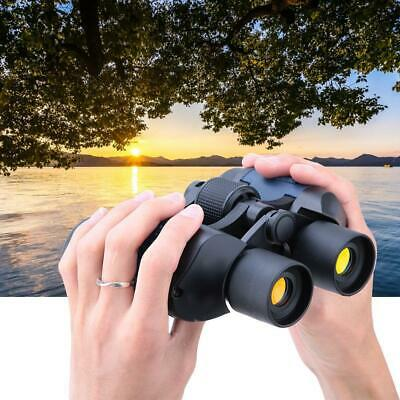 60x60 5-3000m Outdoor Travel Day/Night Vision HD High Power Binoculars Telescope