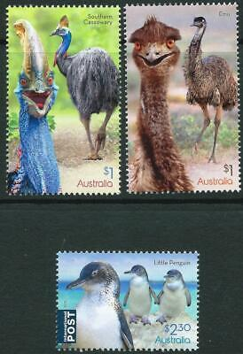 AUSTRALIA - 2019 'FLIGHTLESS BIRDS' Set of 3 MNH [A1816]