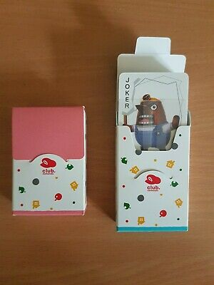 animal crossing new leaf club Nintendo mini cards x2 packs