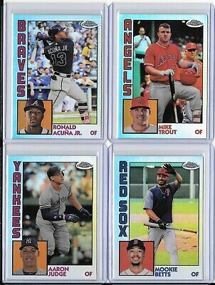 2019 Topps Chrome 1984 Refractor Insert You Pick/Choose the Card *Free Shipping*