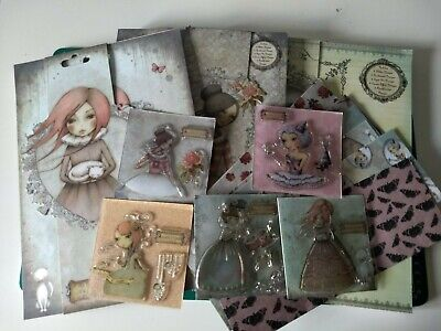 Santoro Mirabelle papercraft collection papers stamps decoupage ~ free UK p&p (2