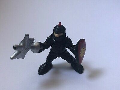 Imaginext Fisher Price Great Adventures Castle Knight Black Guard Sword Shield