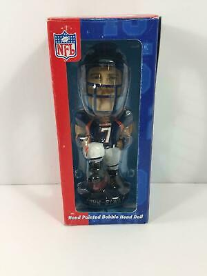 NFL Denver Broncos John Elway Collectible Hand Painted Bobble Head - New!
